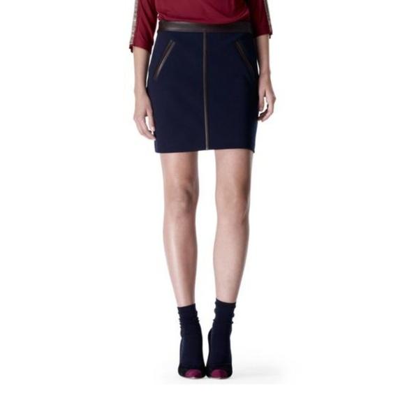Club Monaco Dresses & Skirts - NWT Club Monaco Knit with Leather Trim 0